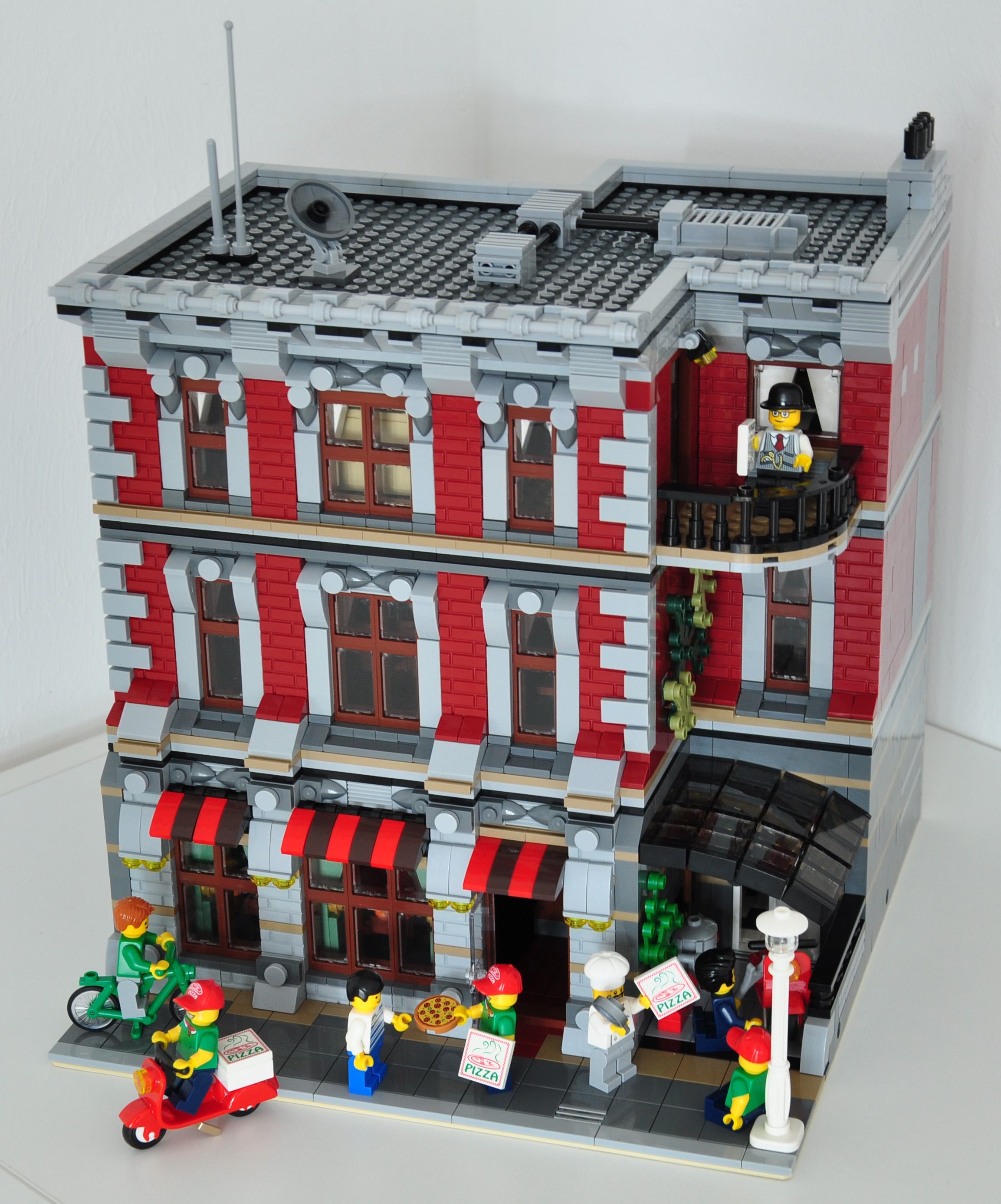 lego moc modular building instructions